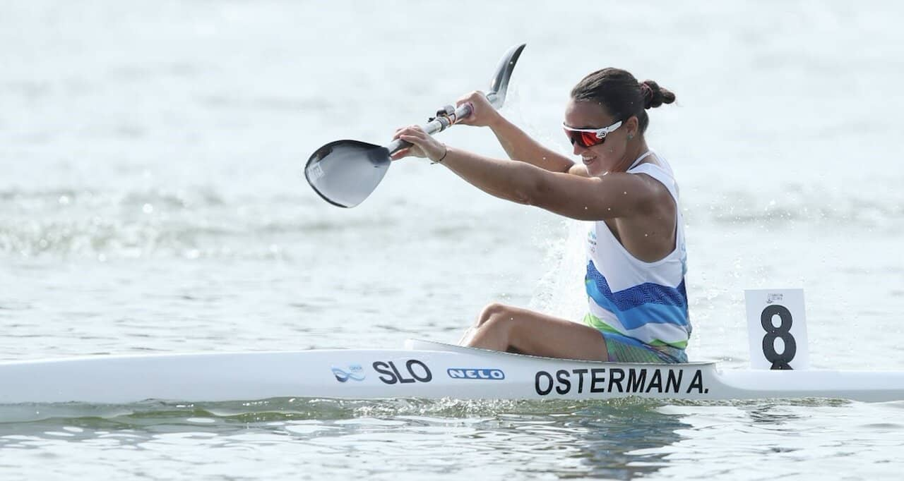 Solo rowing sport